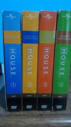Box dvd série dr. House 4 temporadas