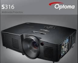 Projetor OPTOMA S316 Full 3d 3200 lumens