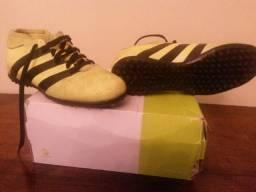 Adidas chuteira infantil ace 16-3 primeme society amarelo