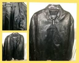Jaqueta de couro wilson's leather original - vendo ou troco por algo de meu interesse