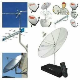 Tecnico de antena parabolica sky claro oitv