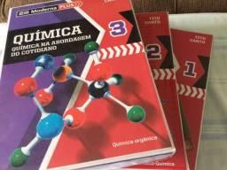 Livros Química 1, 2 e 3 - Química na Abordagem do Cotidiano - Edição 5