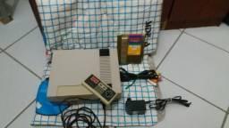 Nintendo (NES) original + controle original+jogo original+Power Pad original