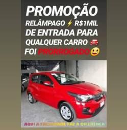 Fiat/MOBI 1.0 LIKE ANO 2018 COM R$1MIL DE ENTRADA NA SHOWROOM AUTOMÓVEIS