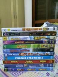DVDs infantis - originais e usados