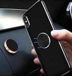 Suporte Para Carro Magnetico Resistente Celular Android iOS Tablet