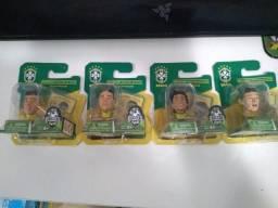 Mini Craques Cbf Seleção Brasileira (preço Negociavel)
