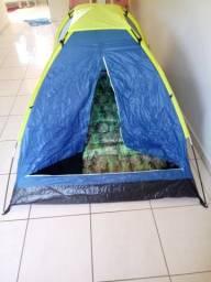 Barraca acampamento 2 pessoas + colchonete de solteiro