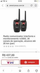 Rádio comunicador Intelbrás
