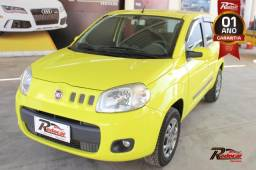 Fiat Uno Attractive Celebration 1.4 Amarelo - 2011