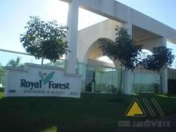 Terreno em condomínio no CONDOMÍNIO ROYAL FOREST & RESORT - Bairro Royal Park Residence &