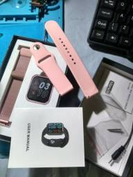 Smartwatch p80 lançamento relógio inteligente
