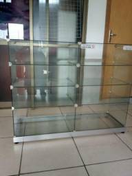 Armário de vidro para loja