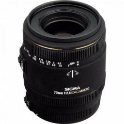 <br>Lente Sigma 70mm f/2.8 Ex Dg Para Nikon