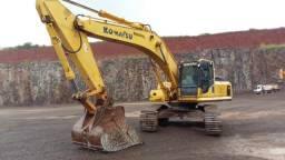 Escavadeira Komatsu PC300-8 - Ano 2009