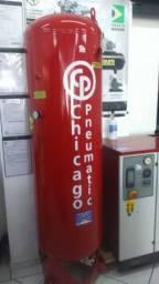 Compressor parafuso 20hp mais reservatório vertical 500lt mais secador de ar
