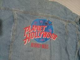 Jaqueta jeans Planet Hollywood Beverly Hills