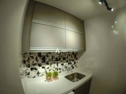 Apartamento mobiliado com 1 dormitório para alugar, 35 m² por R$ 1.700/mês - Portão - Curi