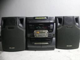 Mini System Sharp com Bluetooth
