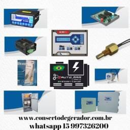 Controladores e sensores, atuadores, peças de gerador