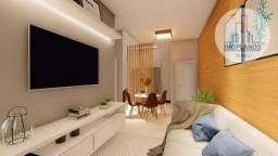 Apartamento com 2 dormitórios à venda, 56 m² por R$ 241.000,00 - Guilhermina - Praia Grand