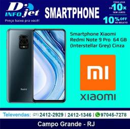 Smartphone Xiaomi Redmi Note 9 Pro Dual Chip 64 GB (Interstellar Grey) Cinza - 210318