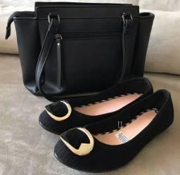 Bolsa /sapatilha-Moleca