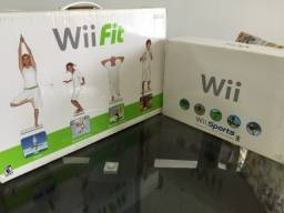Nintendo Wii completo (Academia em Casa)