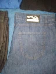 Calças jeans e bermudas semi novas