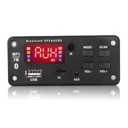Placa P/ Amplificador - Modulo Usb Mp3 Bluetooth