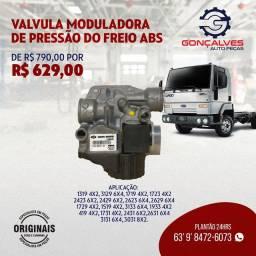 VÁLVULA MODELADORA DE PRESSÃO DO FREIO ABS