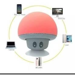 Caixa de som Bluetooth Cogumelo