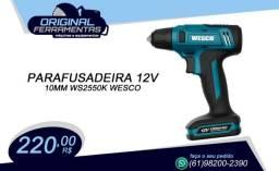 Parafusadeira 12v Lítio 10mm Ws2550k Wesco