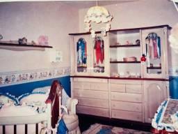 Jogo de Guarda Roupa e cama de casinha +colchão sob medida