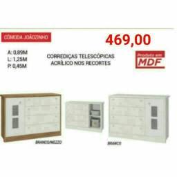 Cômoda Joãozinho em MDF
