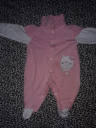 Lote de roupas (59 unidades) bebê de 0 a 2 meses (menina)