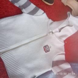 Lote de roupas infantil 9 a 12 meses patos de Minas