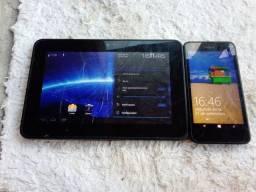 tablet onetouch e celular nokia leia a descrição