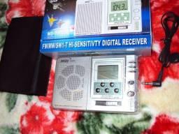 Radio digital Midi am/fm/sw pequeno e fantastico produto novo entregamos em Poa-rs