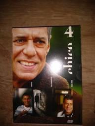 Chico Buarque box 4 com três dvds e um show