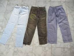 Calças Jeans tamanho 38/40 Entrego