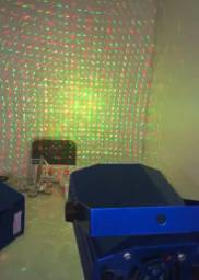 Mini laiser iluminação para festas