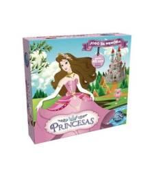 Jogo da Memoria Princesas 40 peças