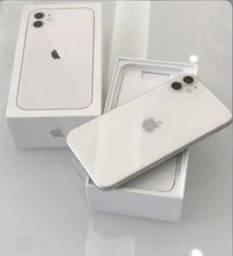 Branco 11 64GB iPhone - Seminovo - com nota e garantia, somos loja fisica