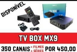 Vendo tvs box novos MX9 4K FULL HD 5G