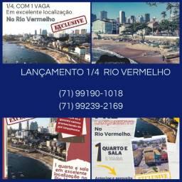 Lançamento Rio Vermelho- Pré venda - 1 quarto - 1 vaga