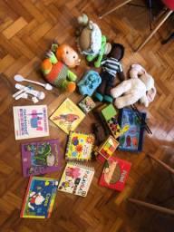 Lote de brinquedos educativos