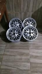 4 rodas liga leve ARO 13 R$ 400