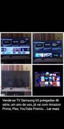 Tv Smart Samsung 4k 65 polegadas.