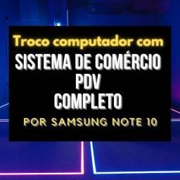 Troco computador com sistema PDV completo para todos tipos de comercios  por NOTE 10